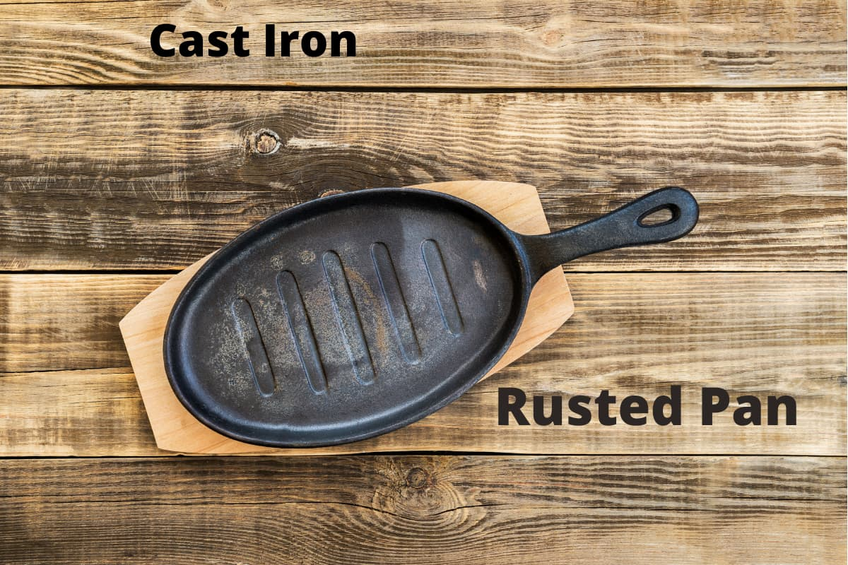 Best Reasons Not To Use Rusted Cookware
