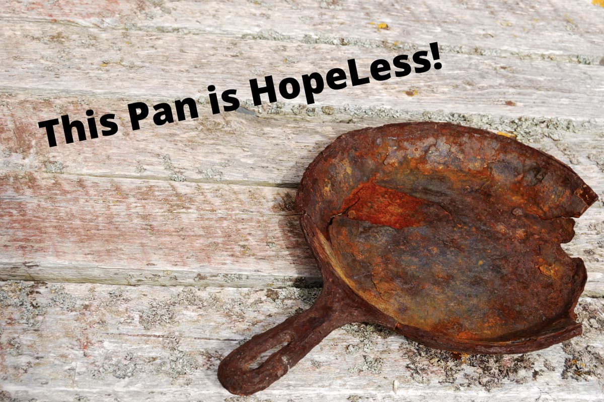 How to Clean a Rusted Carbon Steel Pan the Right Way